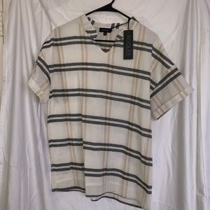 Cute cream and black gingham shirt